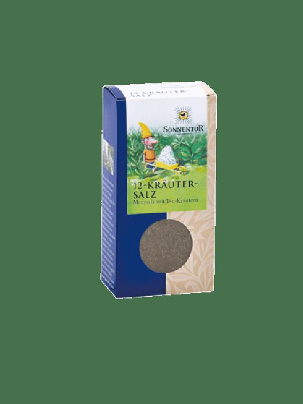 12-Kräutersalz Bio-Meersalz-Kräutermischung 120g