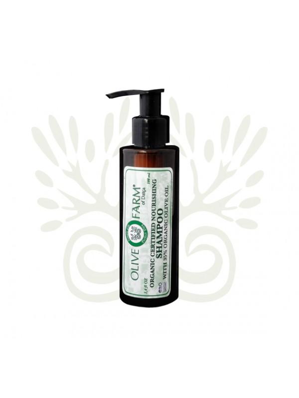 Shampoo mit 35% Olivenöl 100 ml Olive farm