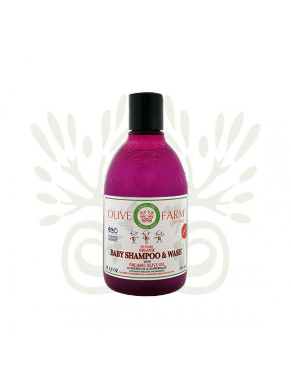 Baby Shampoo und Waschgel 300 ml Olive farm