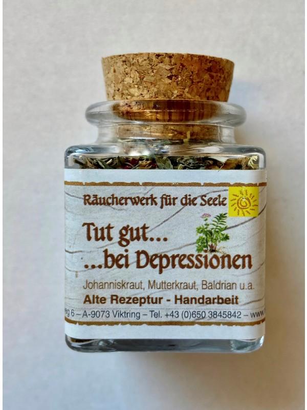 Tut gut bei Depressionen Räucherwerk 50ml bio
