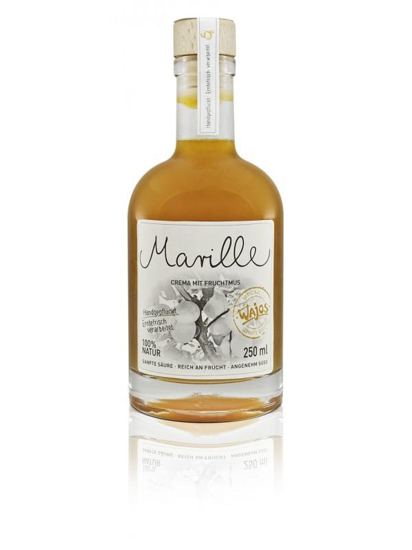 Marille Crema mit Fruchtmus 250ml