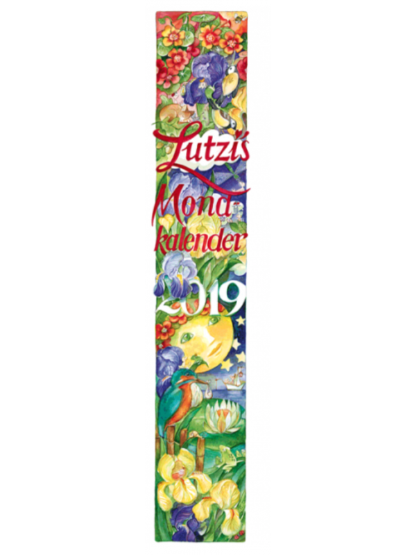 Lutzi's Mondkalender Lang 2019 2 zum Preis von 1 Kalender