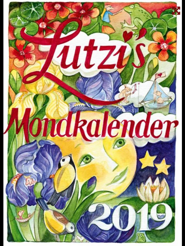 Lutzi's Mondkalender Kurz 2019 2 zum Preis für 1