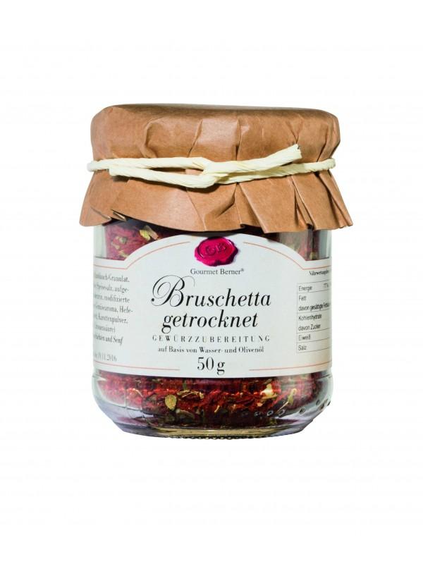 Bruschetta getrocknet im 50g Glas