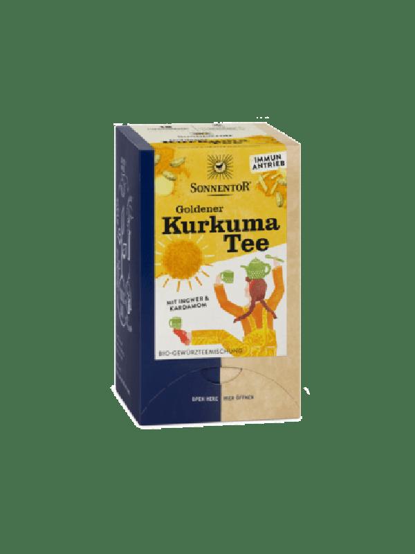 Goldener Kurkuma Tee bio