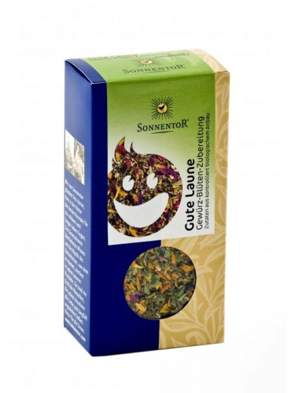 Laune gut, alles gut-Gewürz-Blüten-Zubereitung bio, 25 g