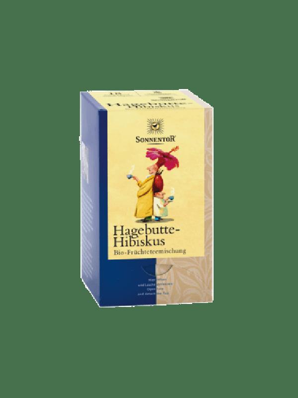 Hagebutte-Hibiskus Tee bio