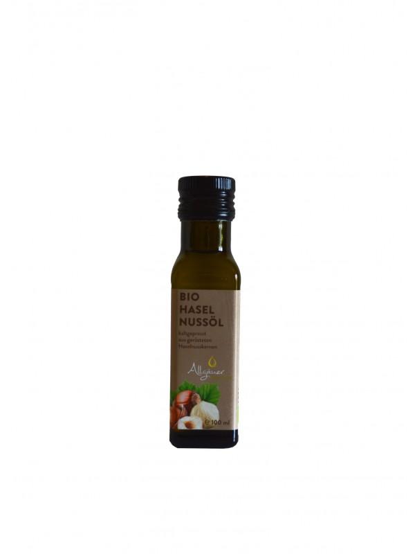 Haselnussöl BIO 100 ml aus dem Allgäu