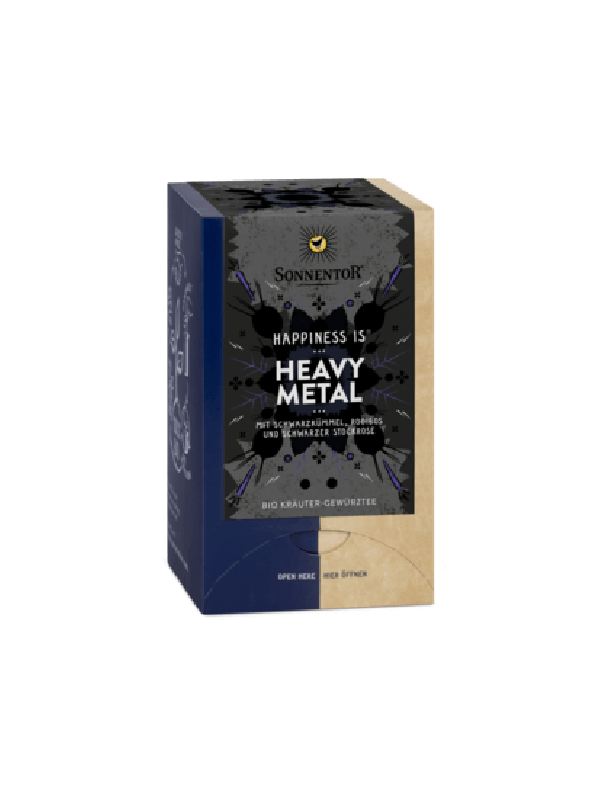 Heavy Metal Tee Happiness is Sonnentor NEU