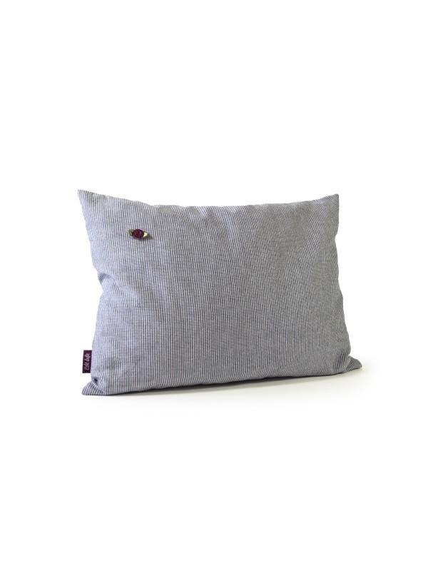 Kissen grau  40x30cm Wohlfühlkissen
