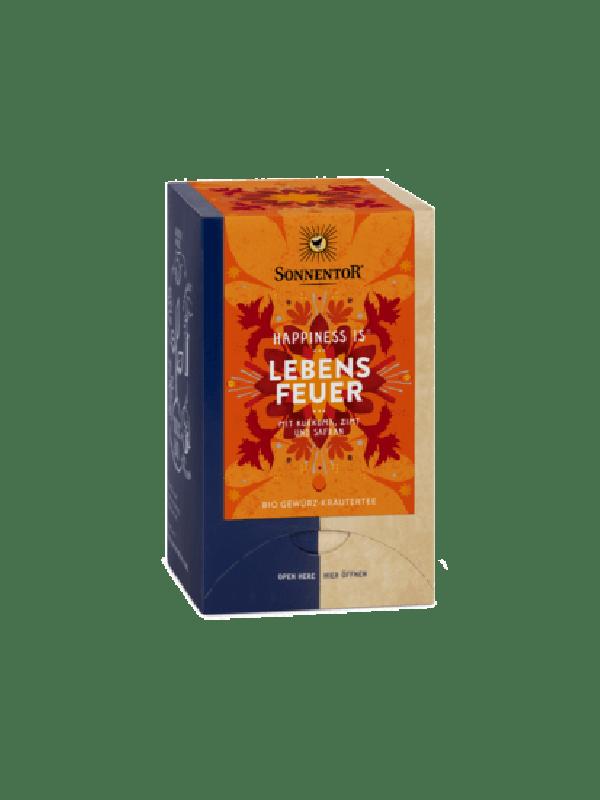 "Lebensfeuer Tee 30g bio ""Happiness is"