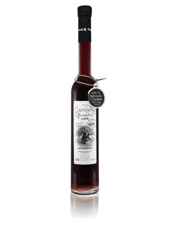 Roter Weinbergpfirsich Likör 20% vol. 350ml
