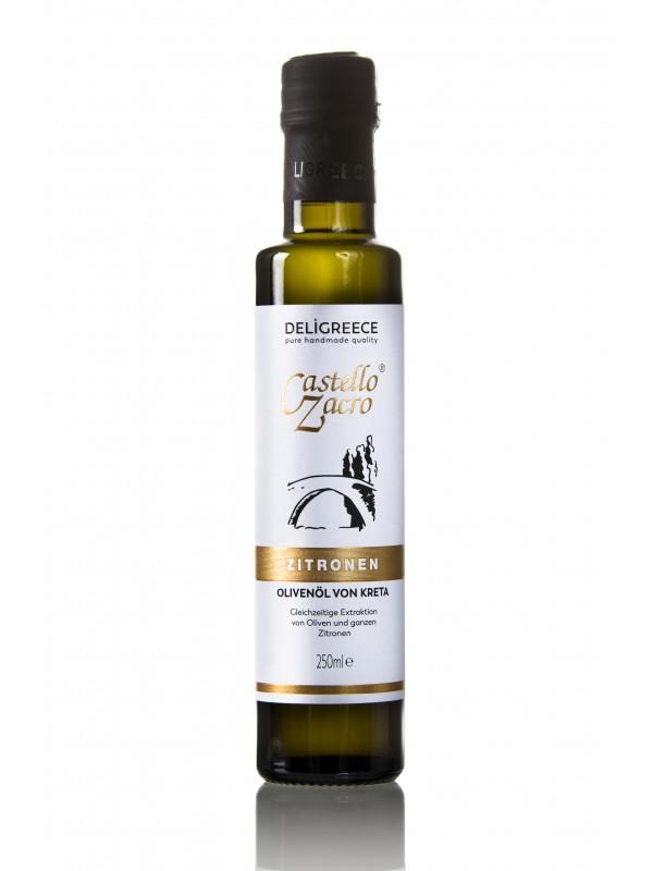 Zitronen-Olivenöl Castello Zacro 250ml