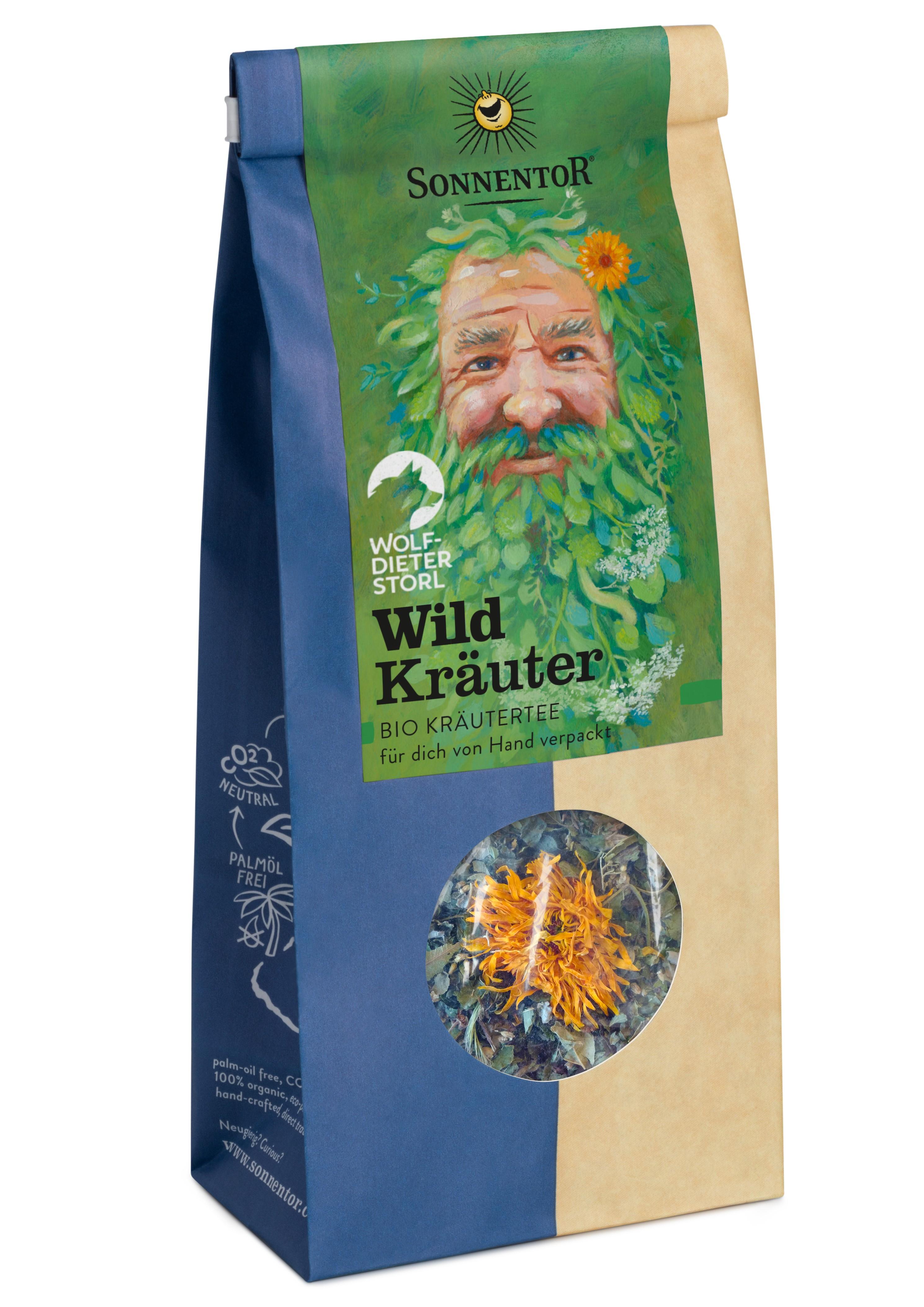Wildkräuter Tee 50g lose bio