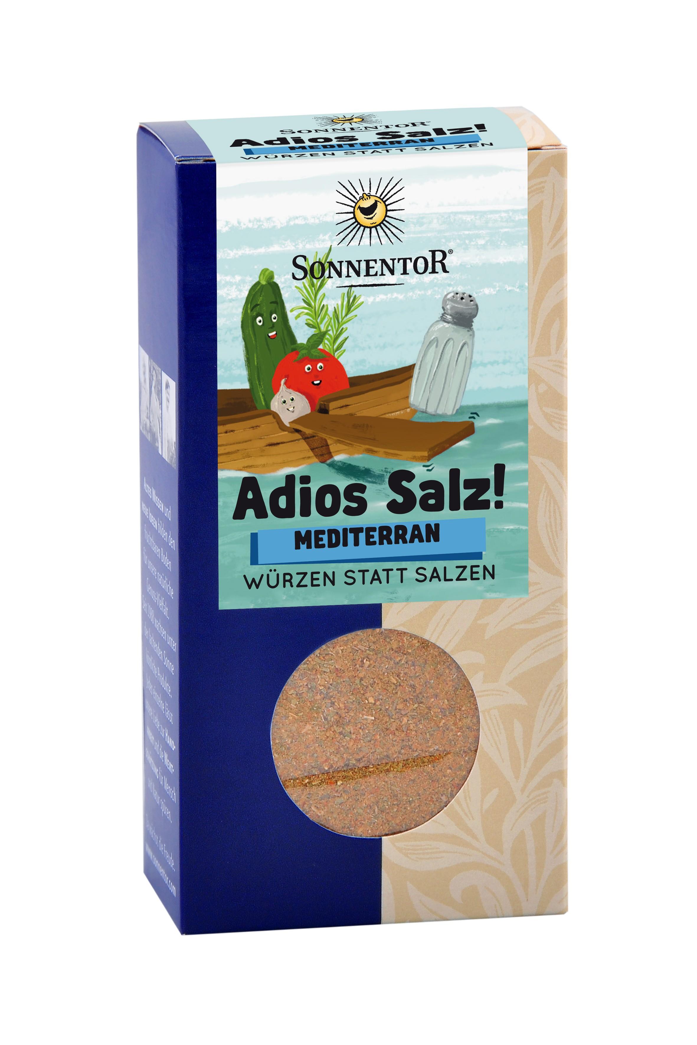 Adios Salz! Mediterrane Gemüsemischung bio, 55 g