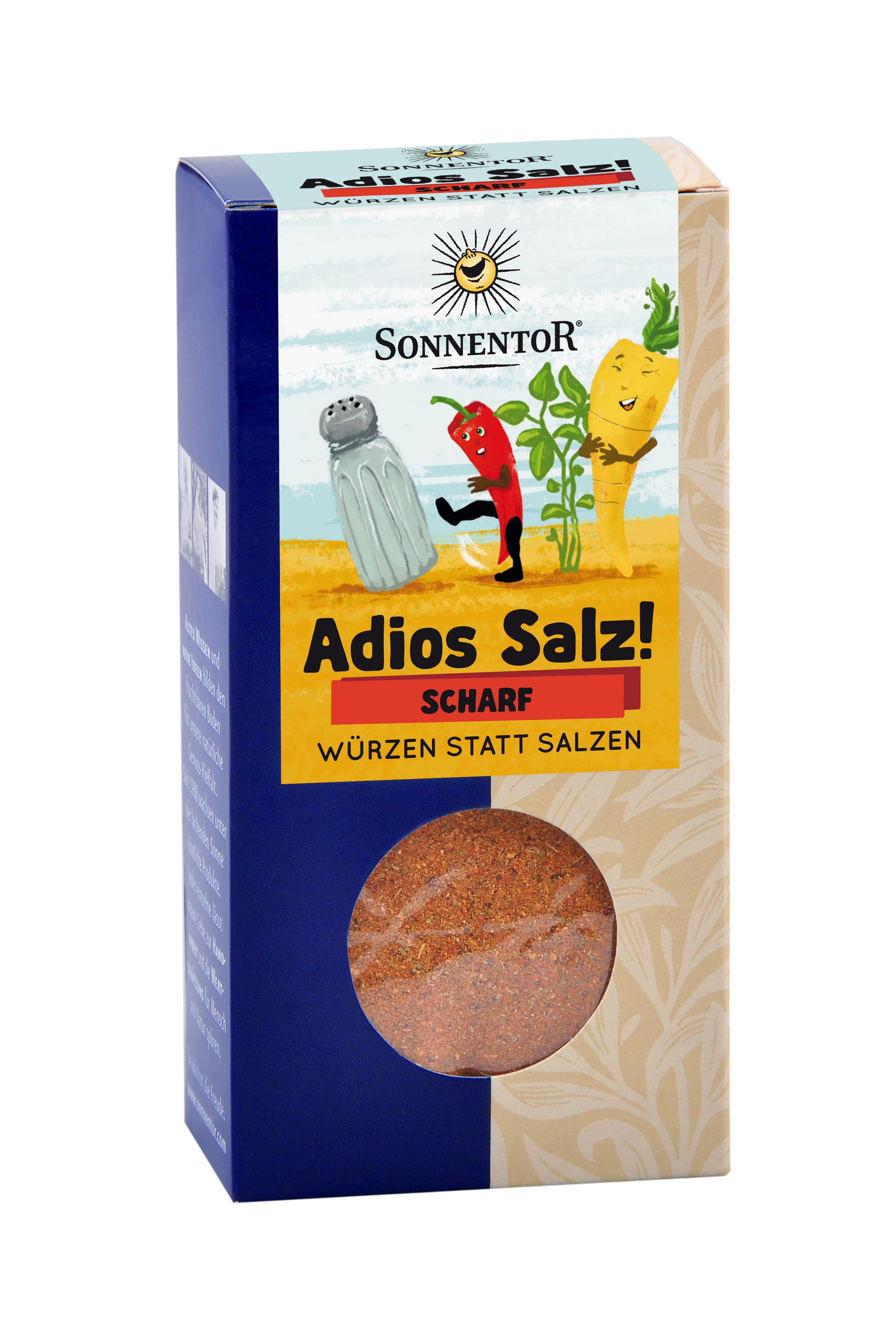 Adios Salz! Scharfe Gemüsemischung bio, 50 g