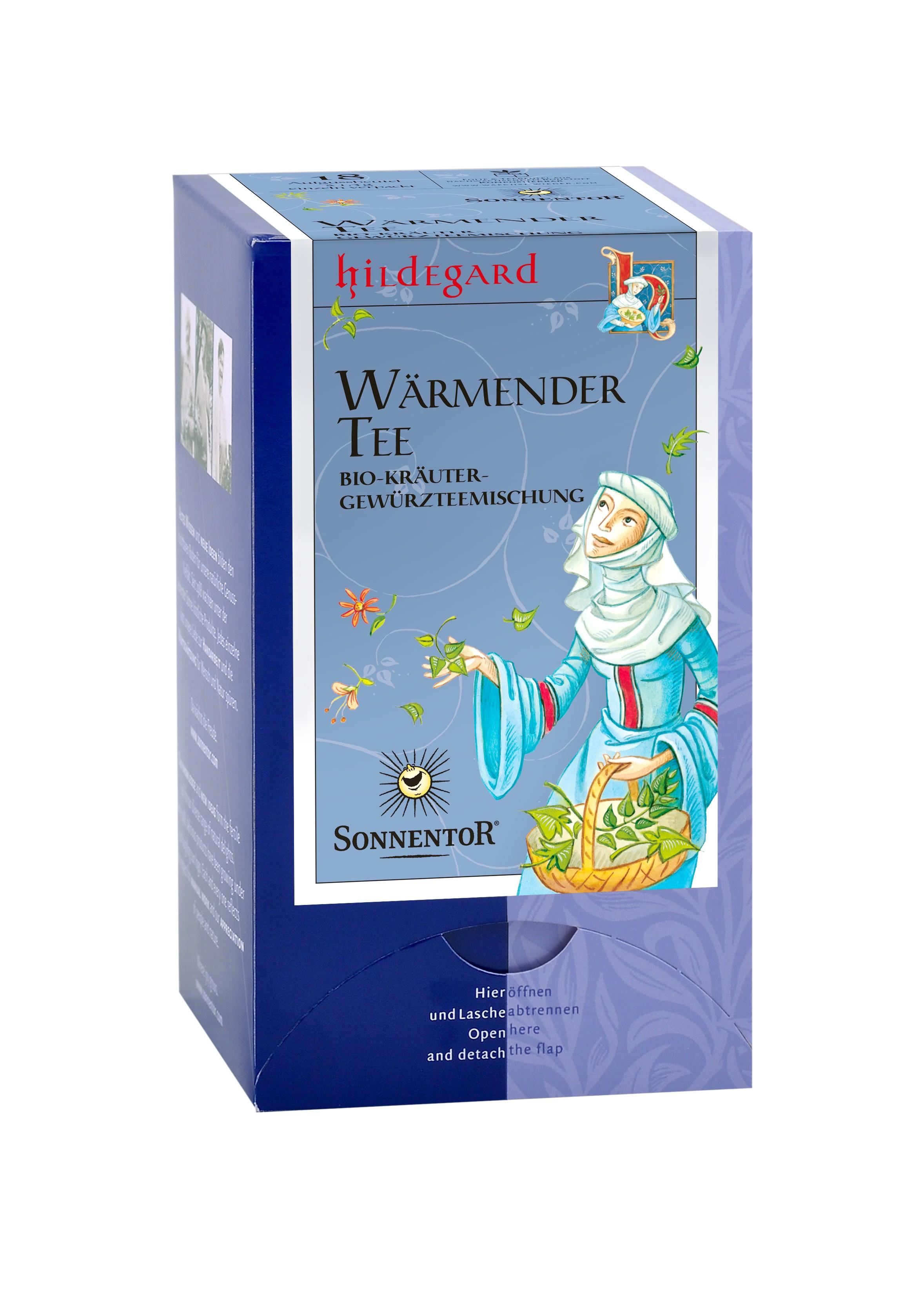 Wärmender Hildegard-Tee bio