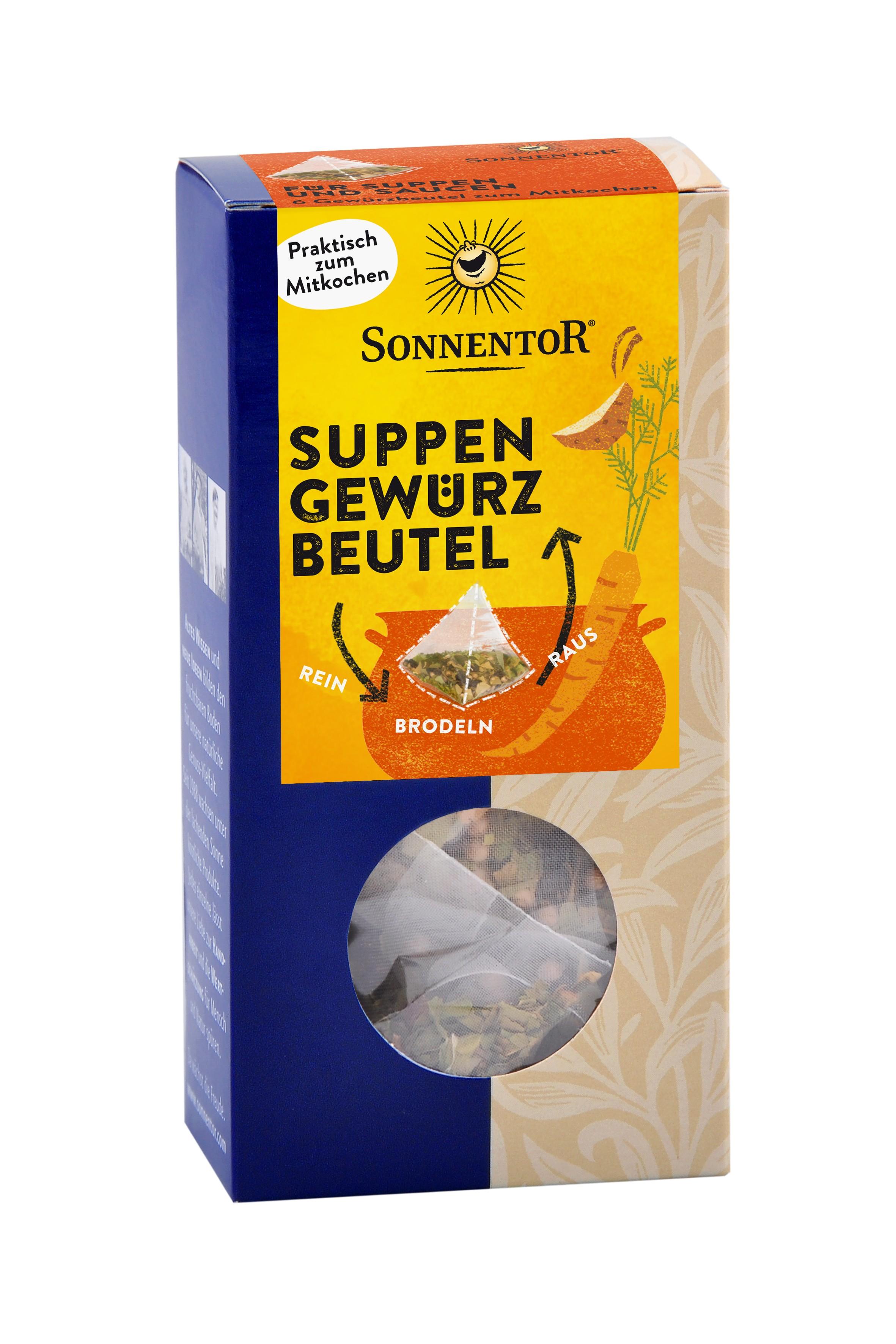 Suppen Gewürzbeutel bio, 26,4g