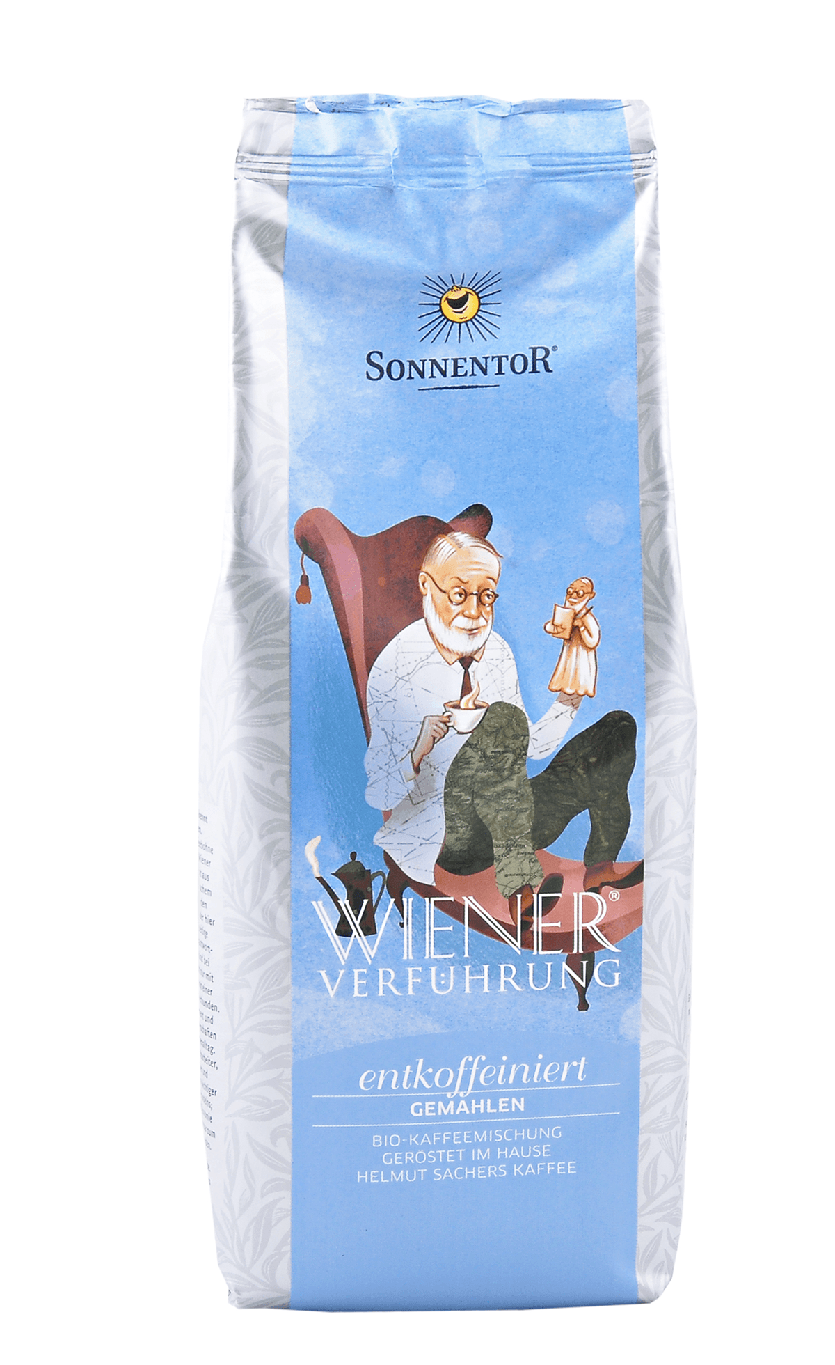 Entkoffeinierter Kaffee gemahlen 500g bio
