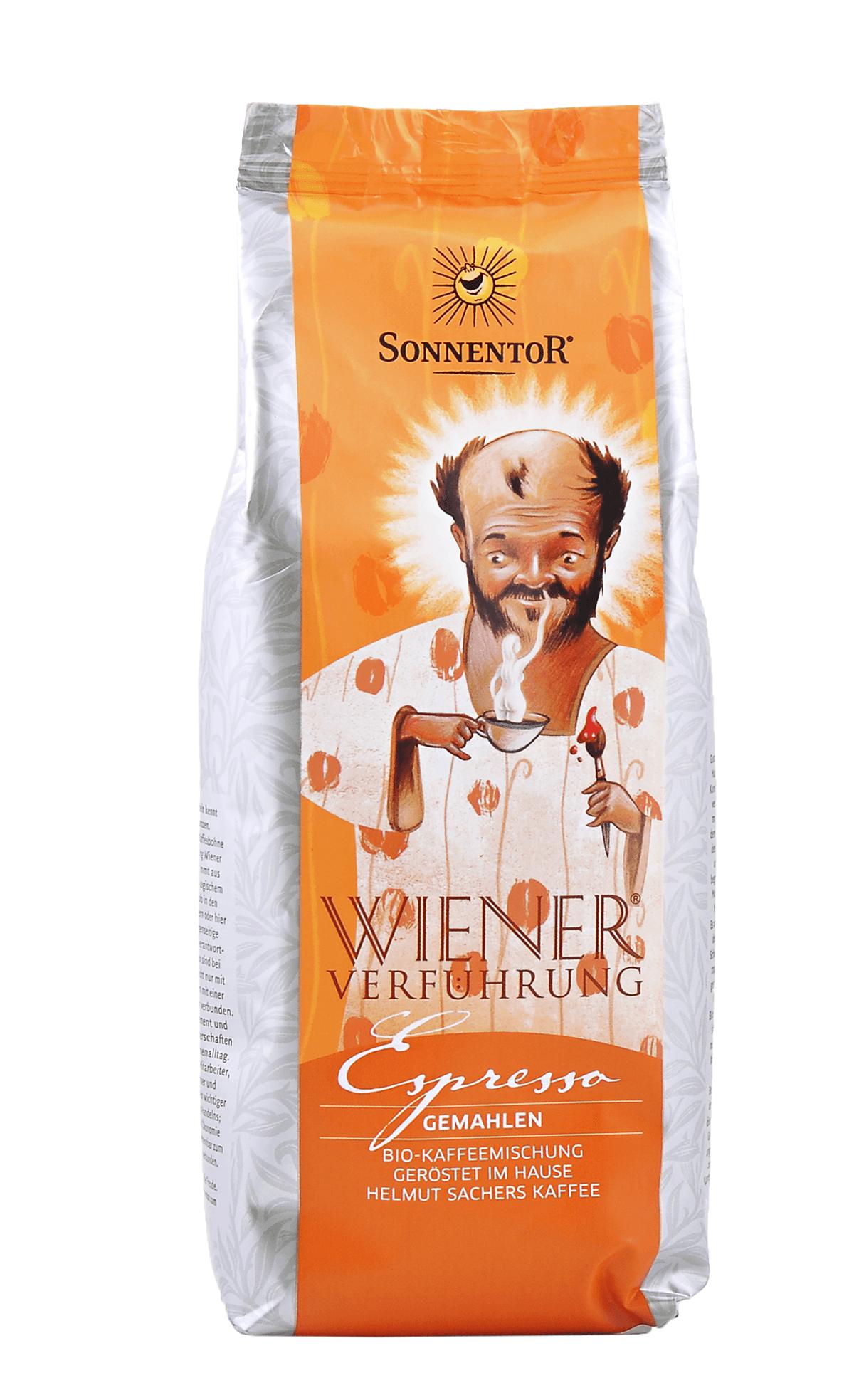 Espresso Kaffee gemahlen 500g bio