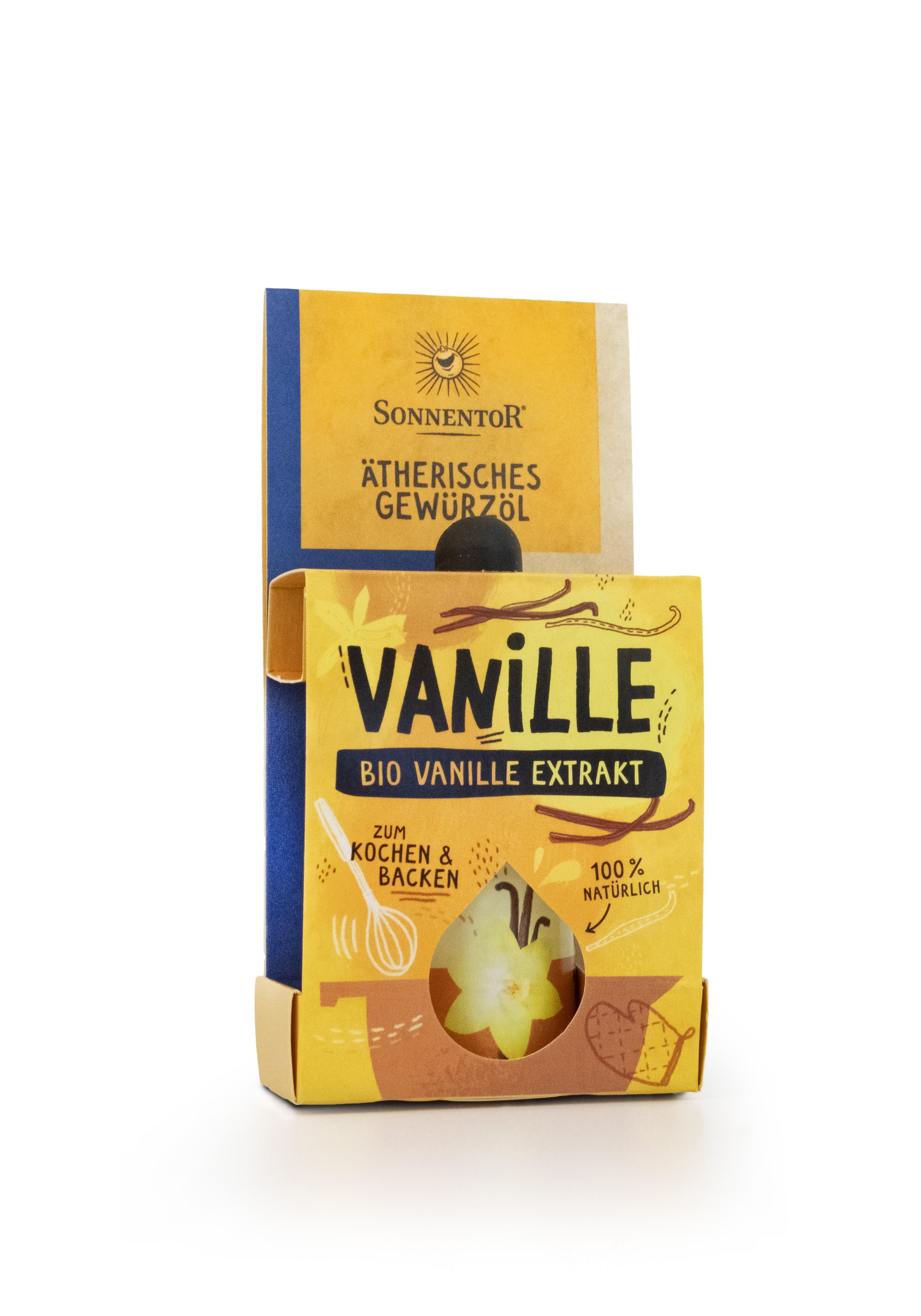 Vanille-Extrakt ätherisches Gewürzöl 4,5ml bio