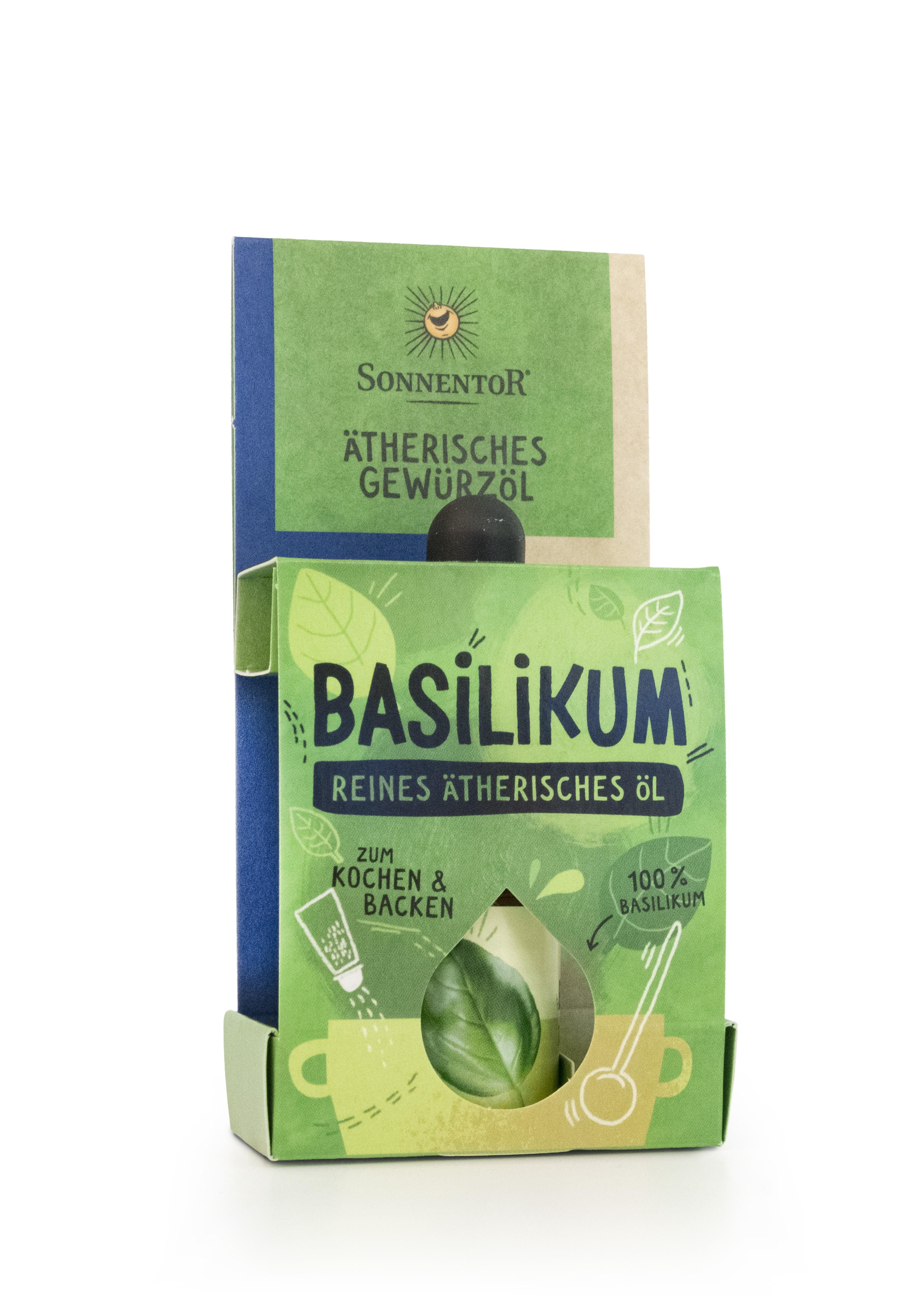 Basilikum ätherisches Gewürzöl 4,5ml bio