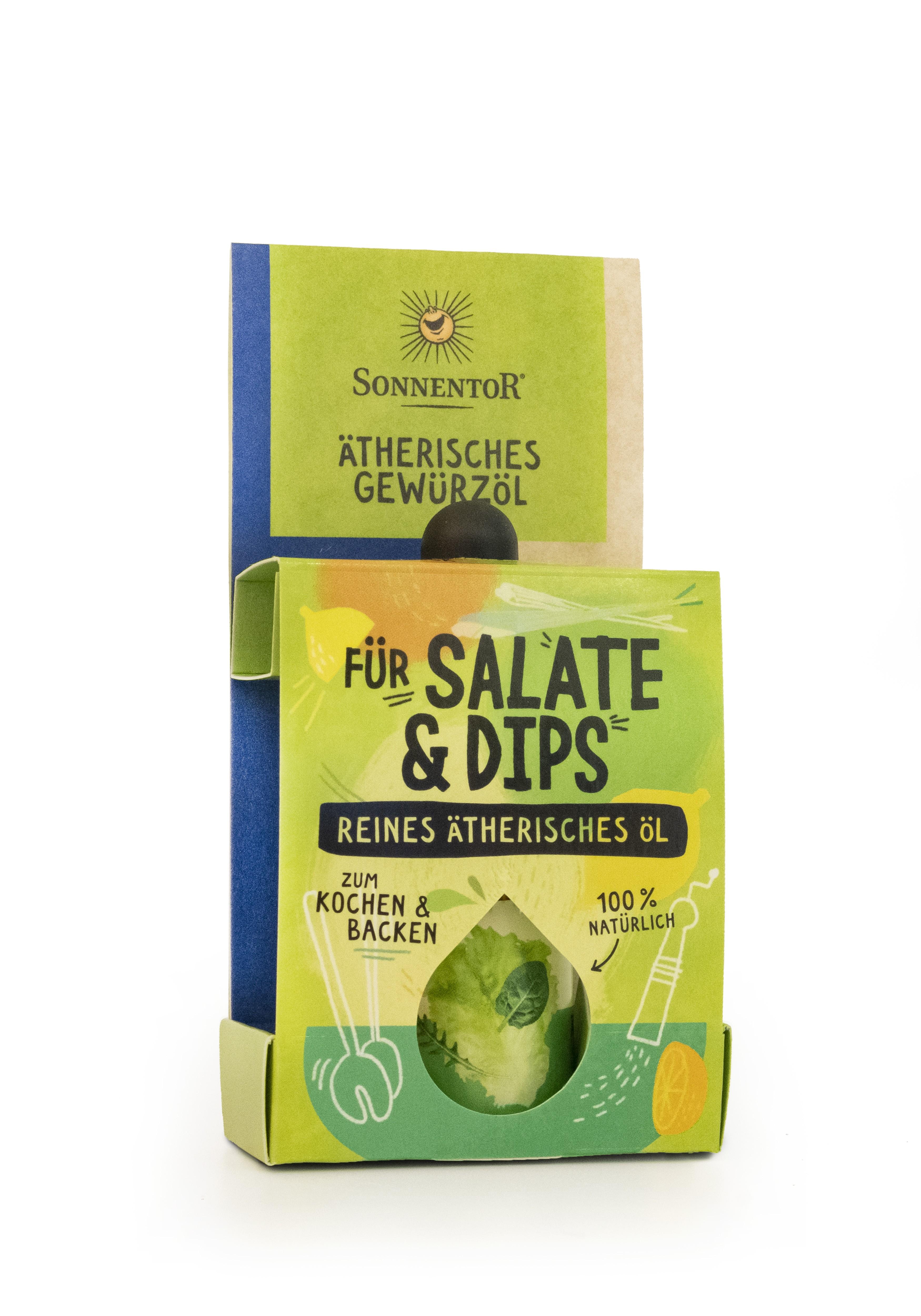 Für Salate und Dips ätherisches Gewürzöl 4,5ml bio
