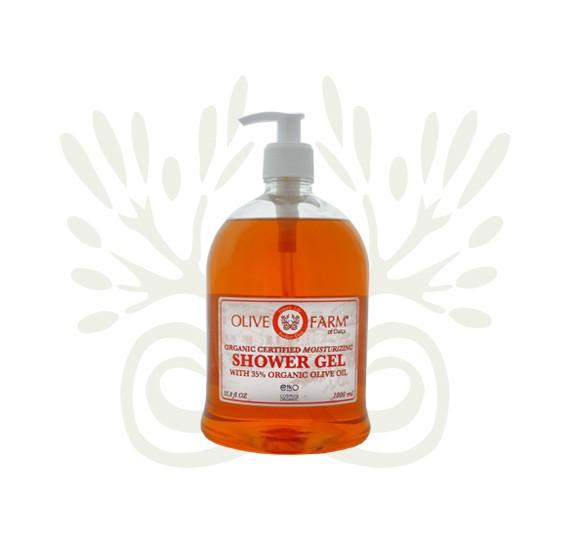 Duschgel mit 35% Olivenöl 1000 ml Olive farm