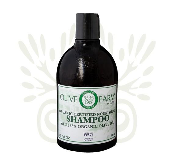 Shampoo mit 35% Olivenöl 300 ml Olive farm