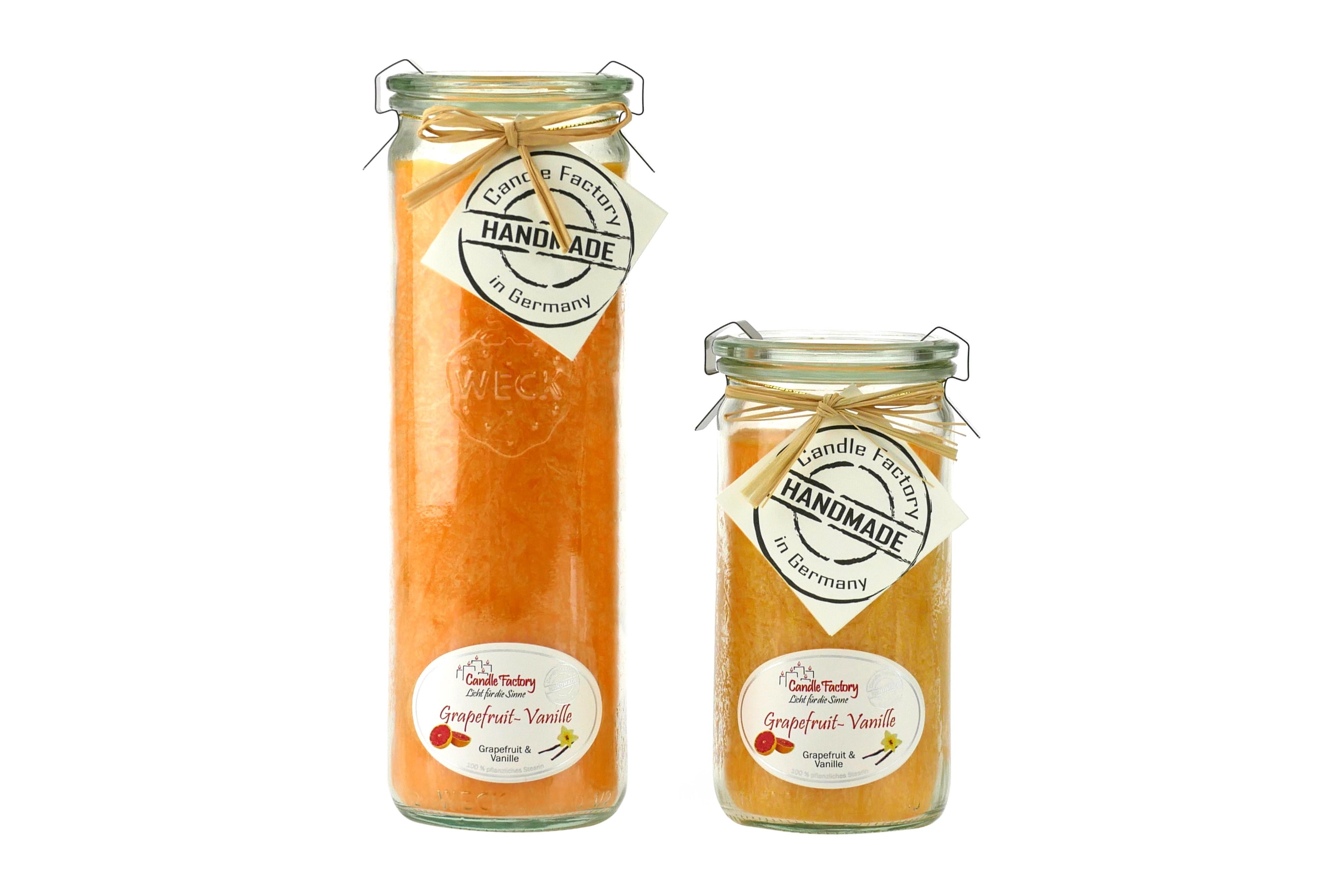 Kerze Mini-Jumbo Grapefruit & Vanille NEU