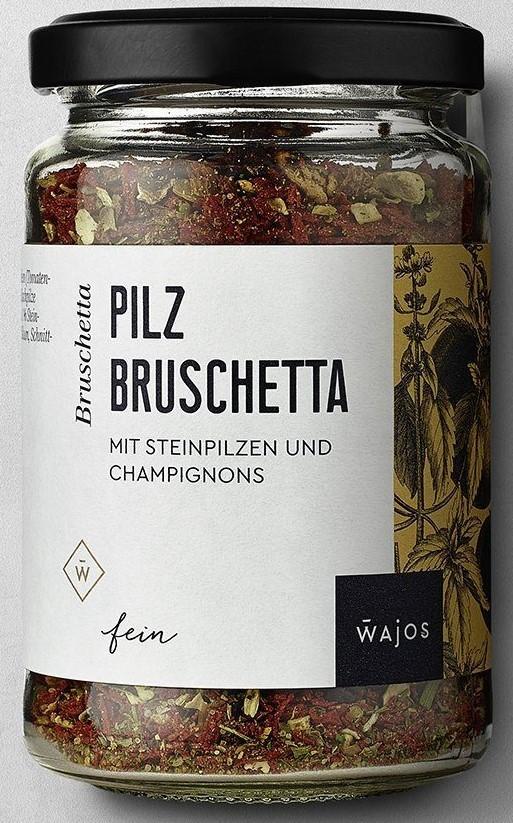 Pilz Bruschetta 75g – Würzmischung mit Steinpilzen und Champignons