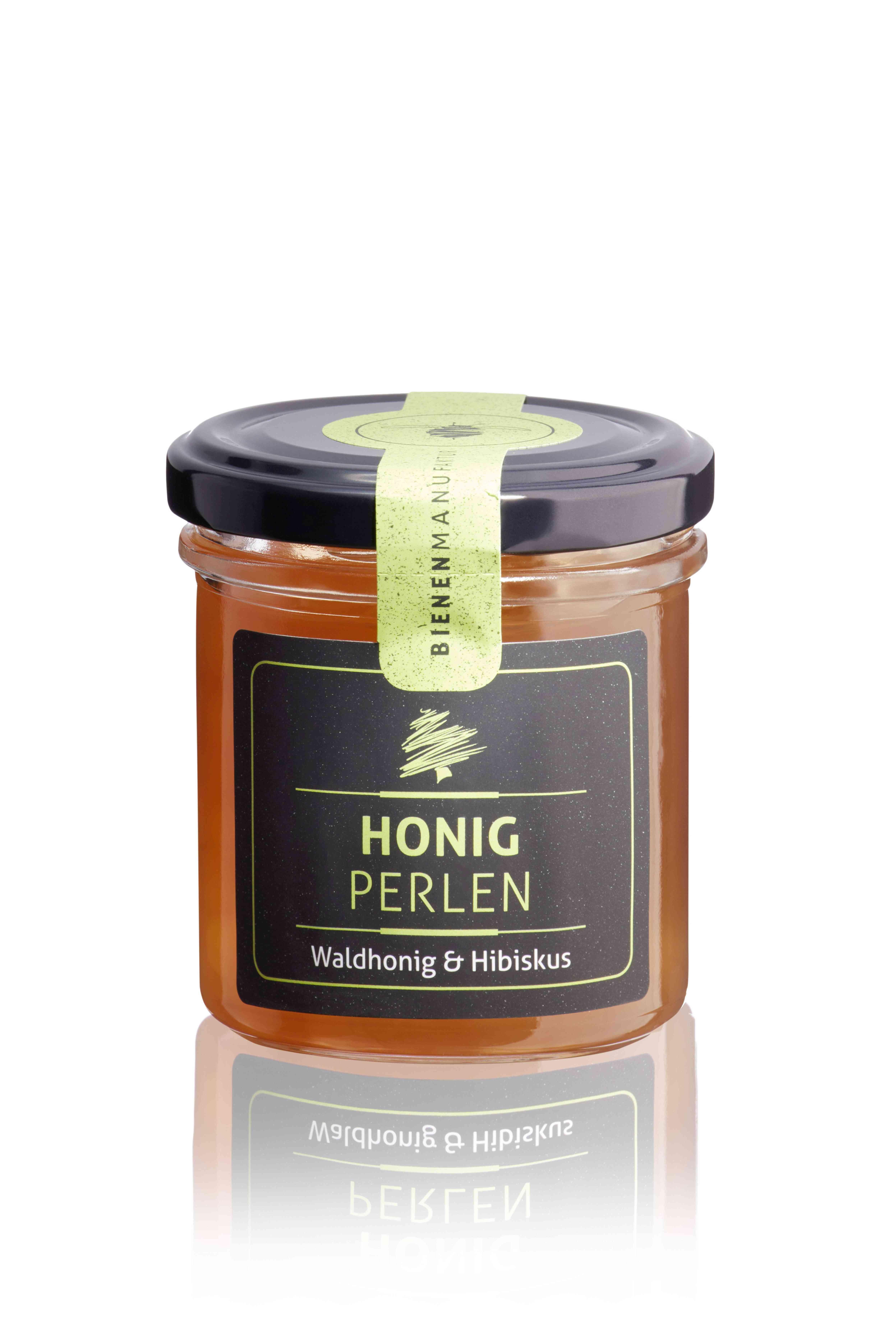 Honigperlen Waldhonig & Hibiskus 150g