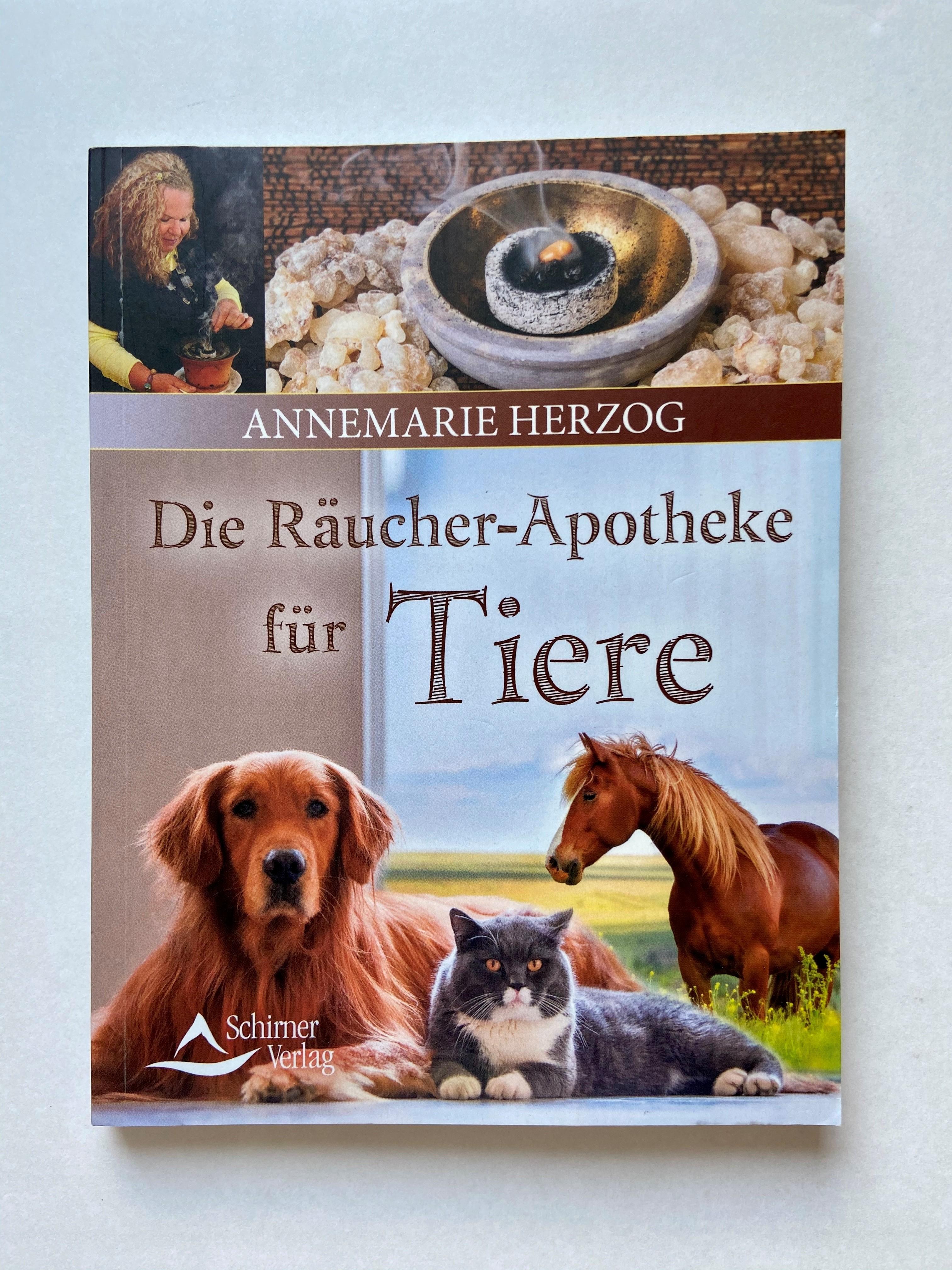 Die Räucherapotheke für Tiere Buch