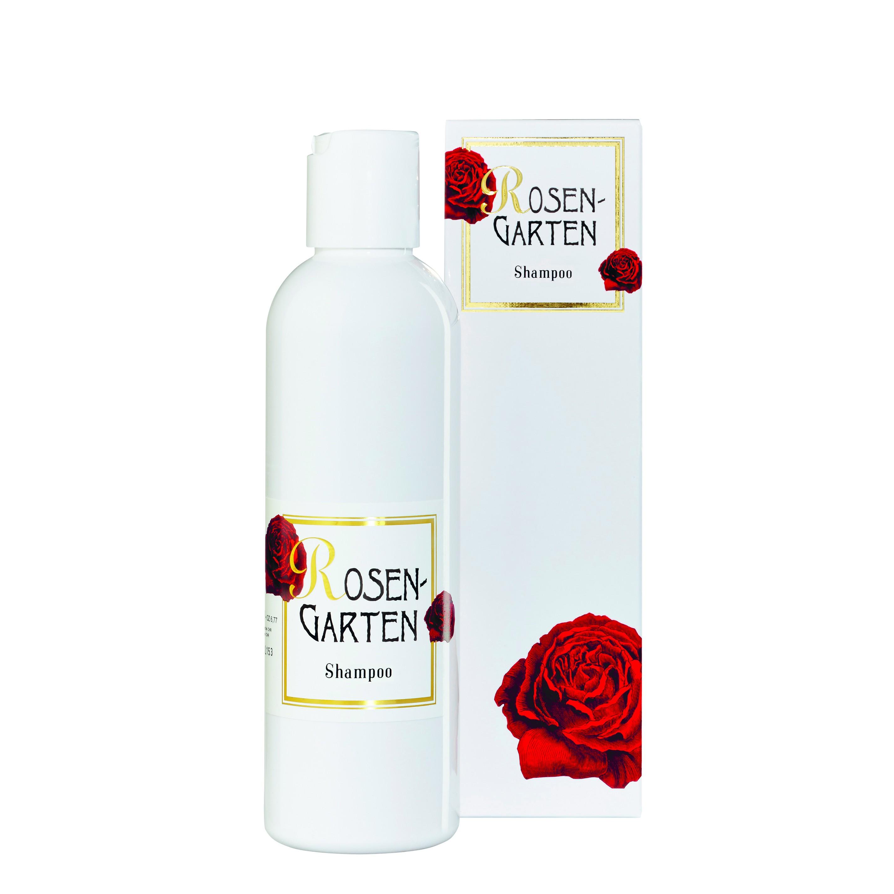 Rosengarten Shampoo 200ml bio