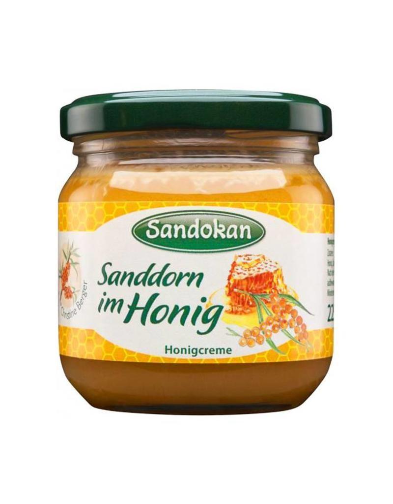 Honigcreme Sanddorn im Honig 225g