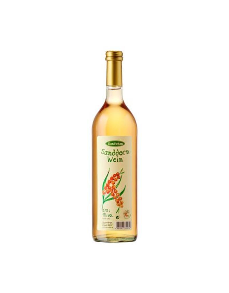 Sanddornwein - halbtrocken 11% vol. 750ml