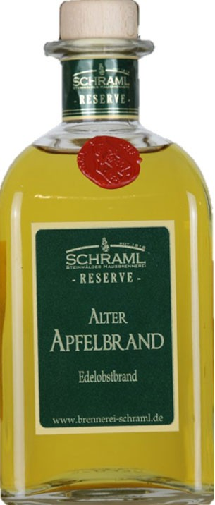 Alter Apfelbrand RESERVE 43% vol. 500ml