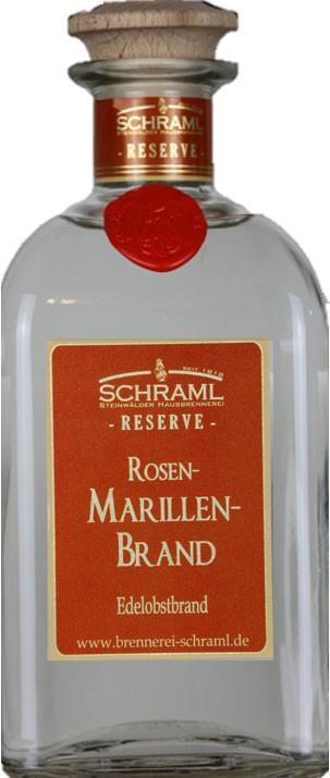 Rosenmarillenbrand RESERVE 43% vol. 500ml