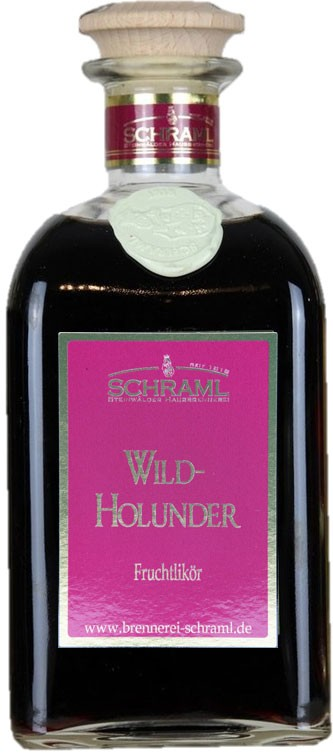 Wild-Holunder-Likör 30% vol. 500ml