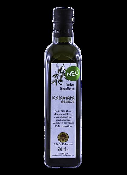 Olivenöl Natives Kalamata P.D.O. Extra 500 ml