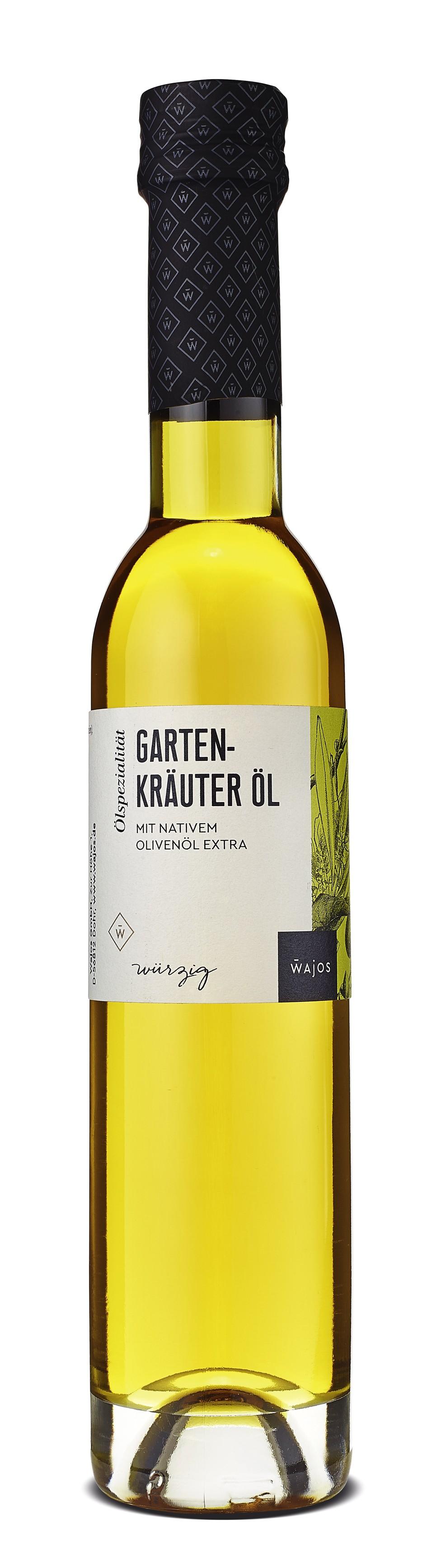 Gartenkräuter Öl 250ml - Olivenölzubereitung