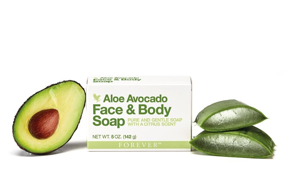 Face & Body Seife mit Aloe Avocado 142g FOREVER