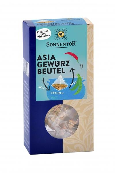 Asia Gewürzbeutel bio, 36,6g