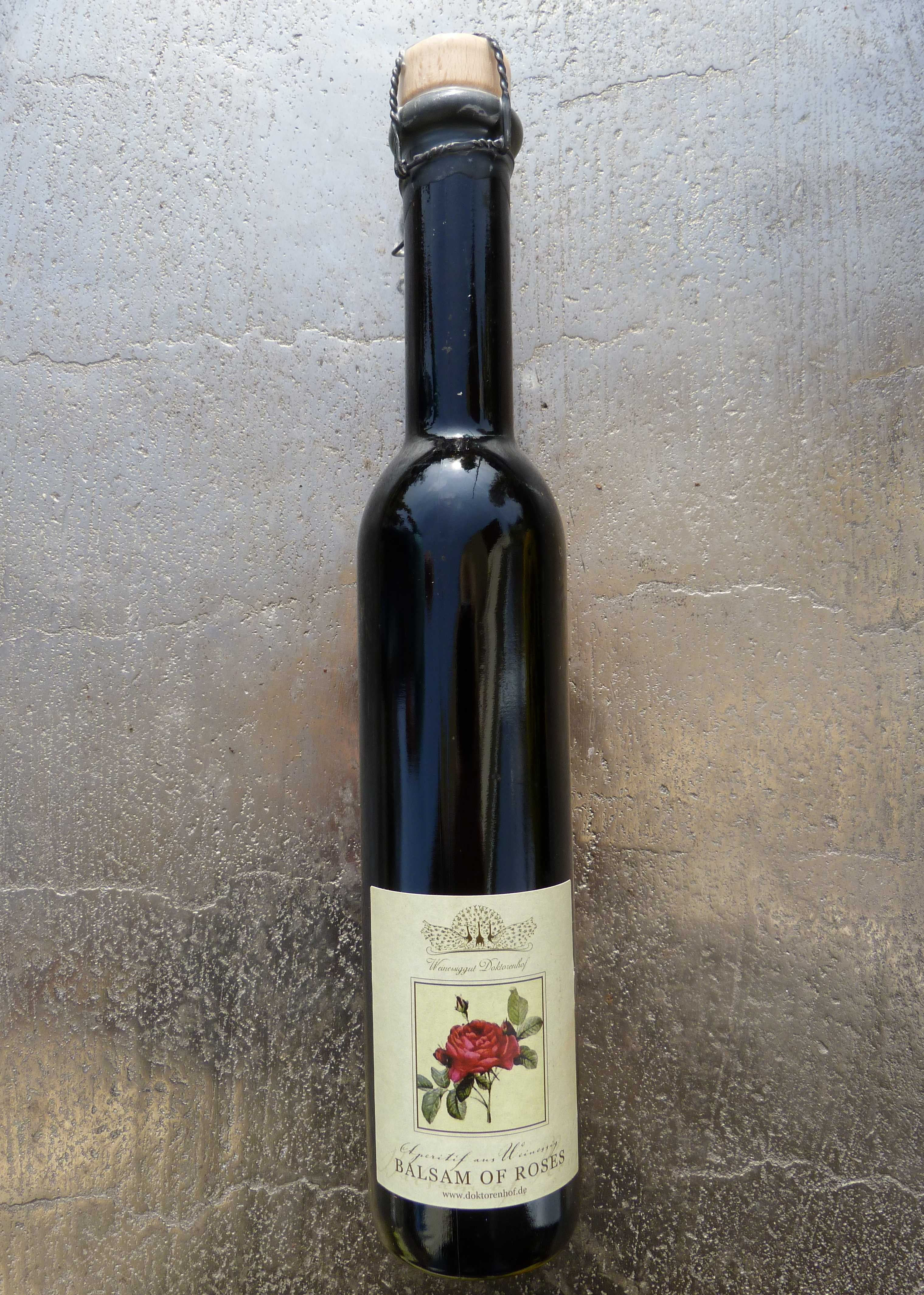 Balsam of Roses Essig 250 ml Doktorenhof Flasche