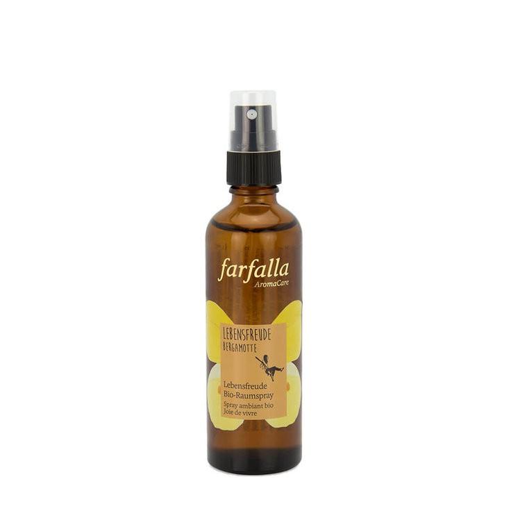 Bio-Raumspray Lebensfreude 75 ml Bergamotte Farfalla