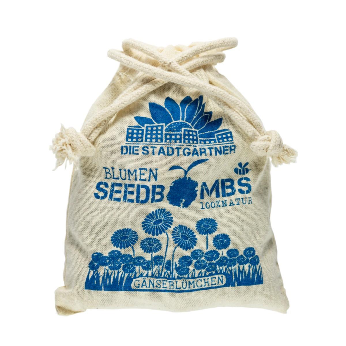 Samenbomben Gänseblümchen 8 Stück