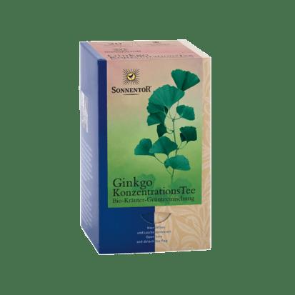 Ginkgo Konzentrationstee bio  Sonnentor