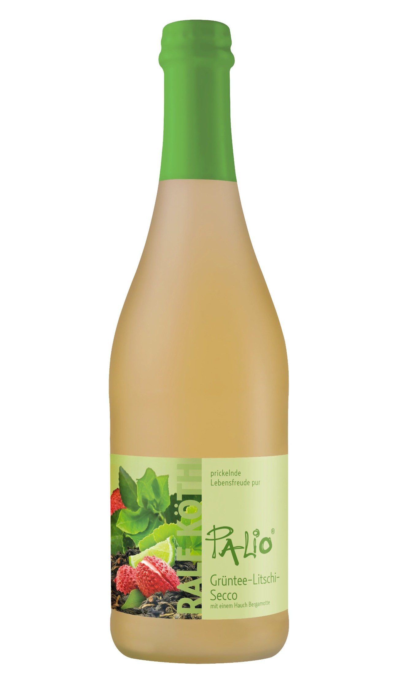 Grüntee-Litschi Palio Secco 10% vol. 750 ml