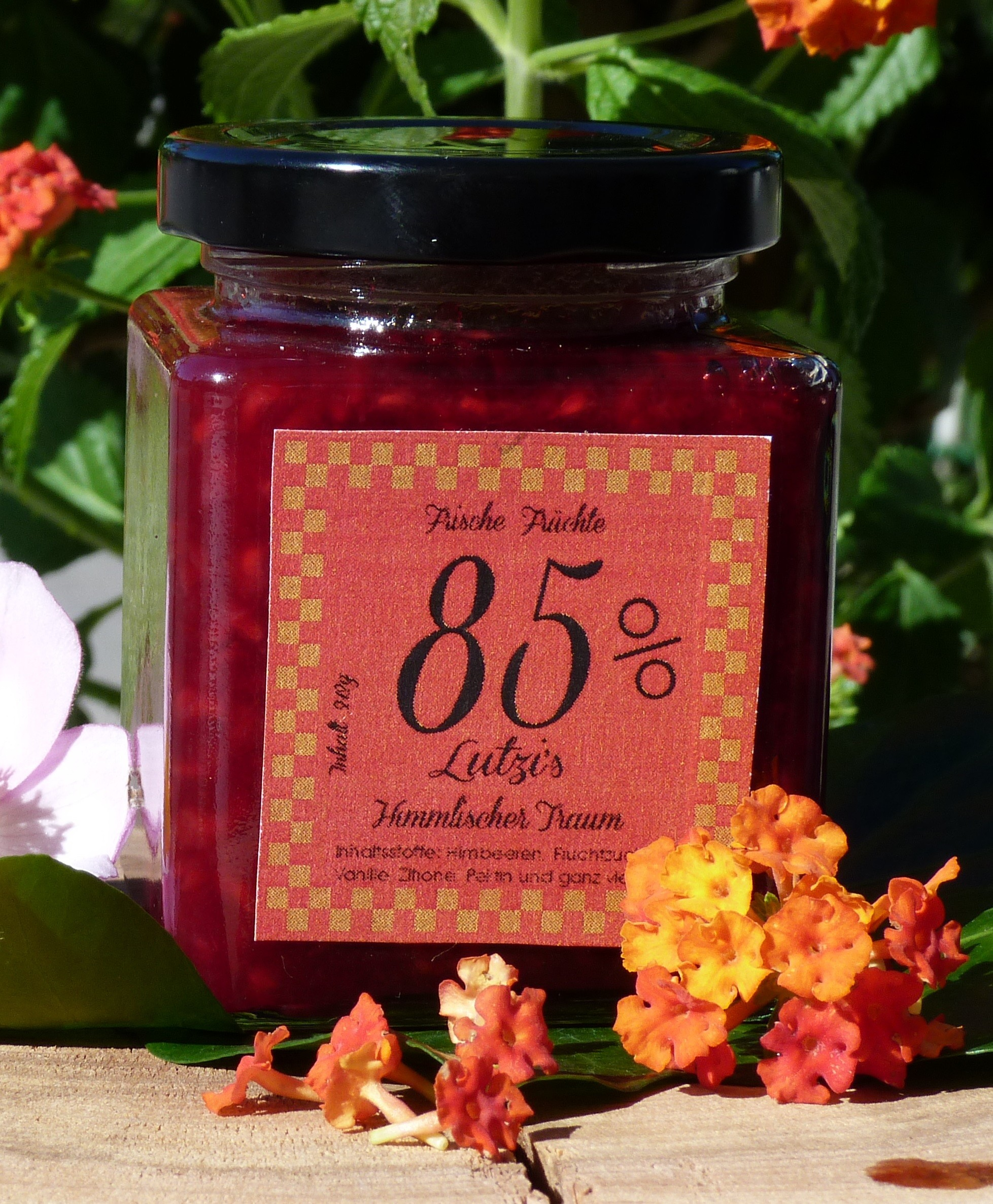 Himmlischer Traum 212 g Himbeer Marmelade