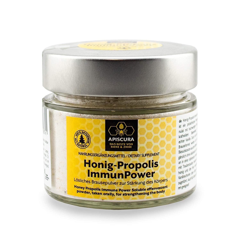 Honig Propolis ImmunPower Brausepulver 100g  APISCURA